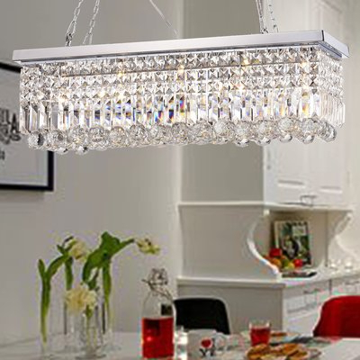 Three Posts Verdell 5 Light Crystal Chandelier (View 16 of 25)