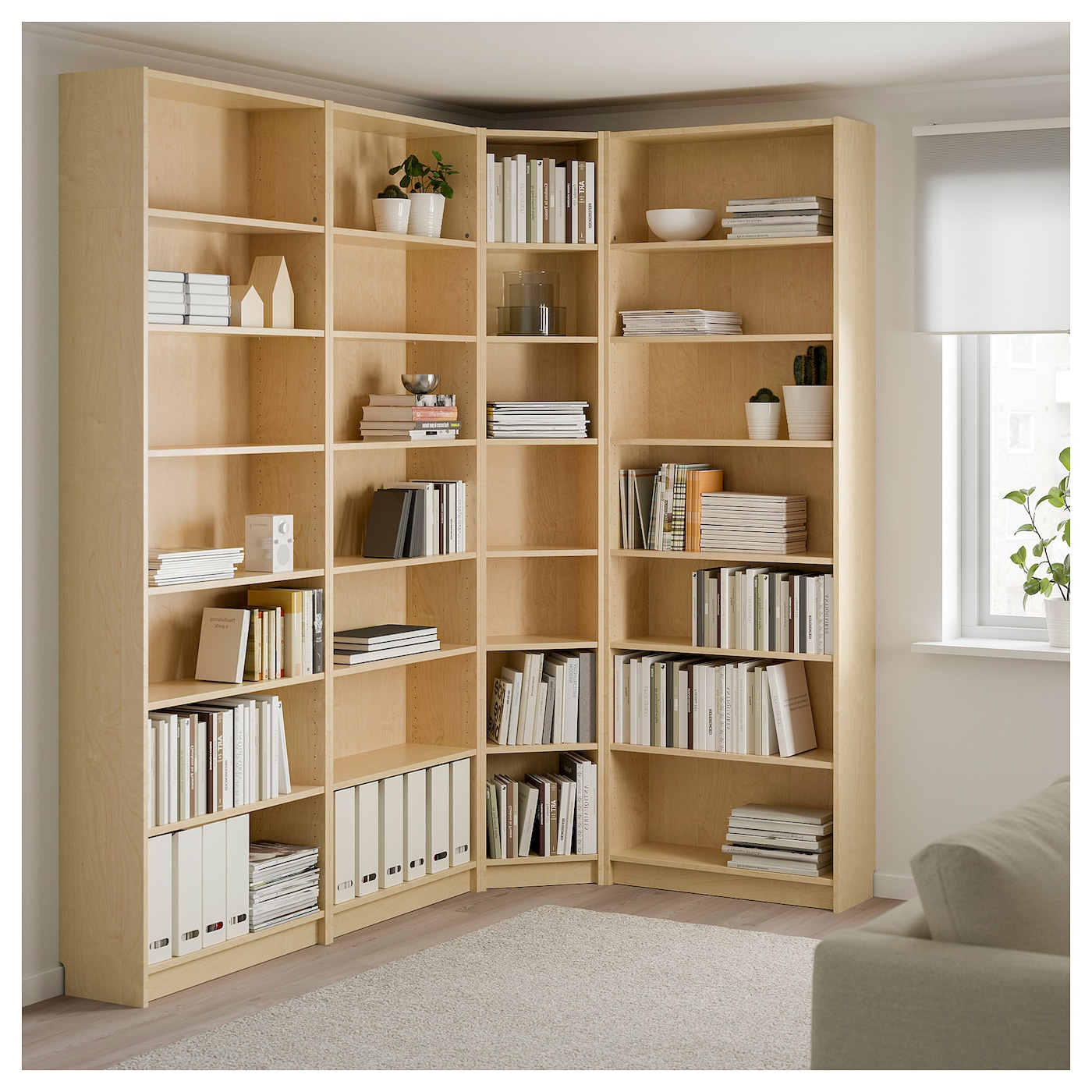 Tisha Corner Bookcases For Most Up To Date Billy – Bookcase, White (View 13 of 20)