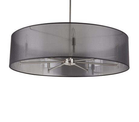 Trendy Alverez 4 Light Drum Chandeliers Regarding Walker 7 Arm Chandelier (View 13 of 25)