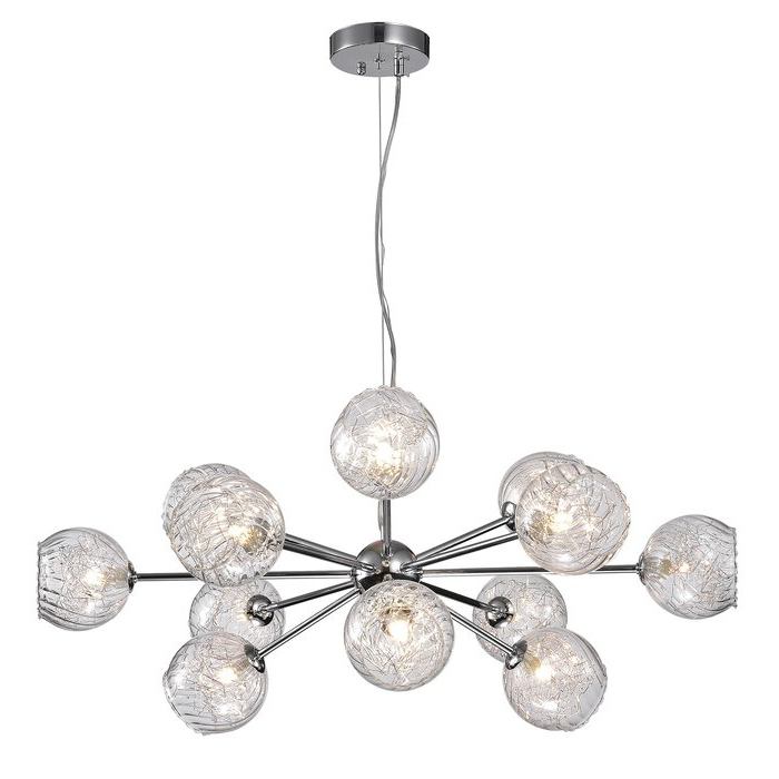 Trendy Asher 12 Light Sputnik Chandeliers Regarding Earleville 12 Light Sputnik Chandelier (View 23 of 25)