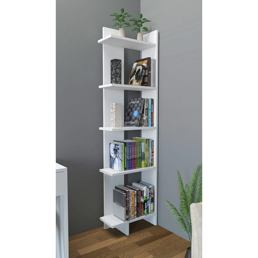 "Trendy Corner Unit Bookcases With Wayfair $95 Lorena 67"" Corner Unit Bookcase (View 7 of 20)"