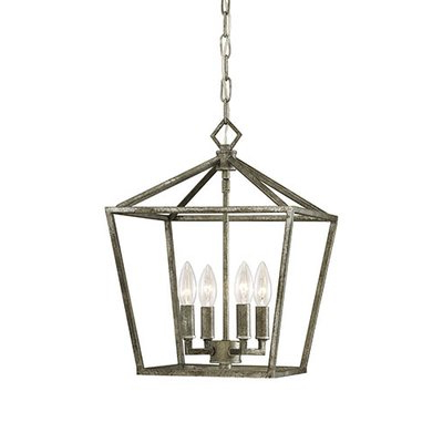 Trendy Finnick 4 Light Foyer Pendants With Varnum 4 Light Lantern Pendant (View 8 of 25)