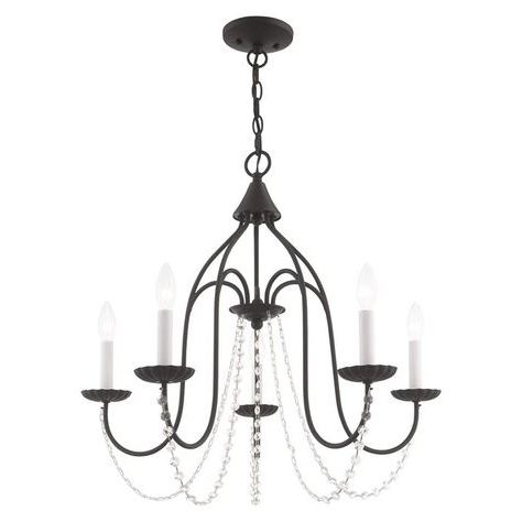 Trendy Florentina 5 Light Candle Style Chandeliers Pertaining To Florentina 5 Light Candle Style Chandelier (View 24 of 25)
