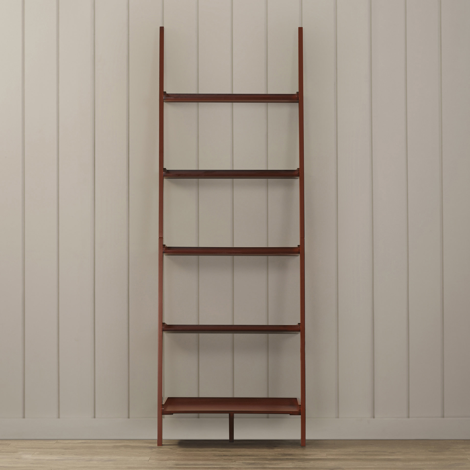 Trendy Gilliard Ladder Bookcase Inside Ranie Ladder Bookcases (View 17 of 20)