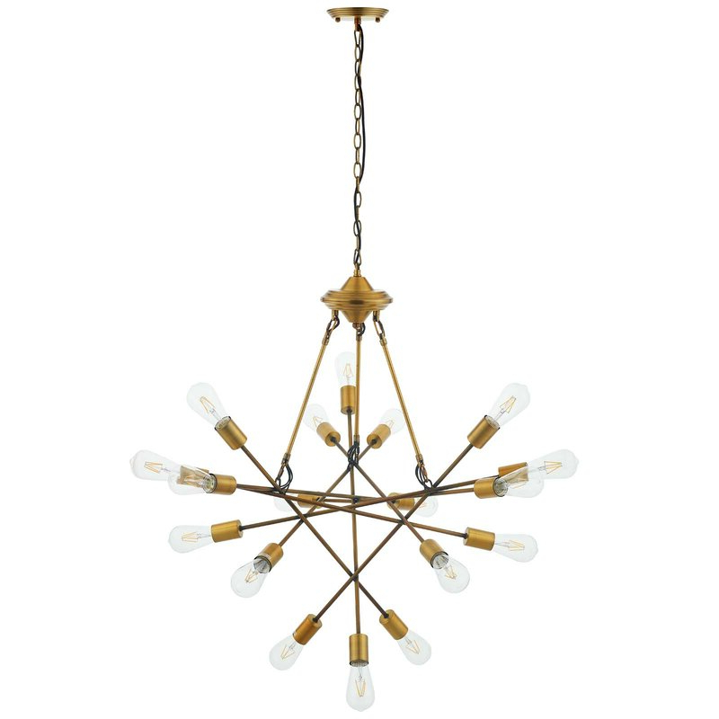 Trendy Griffey Request Mid Century 18 Light Sputnik Chandelier Within Defreitas 18 Light Sputnik Chandeliers (View 21 of 25)