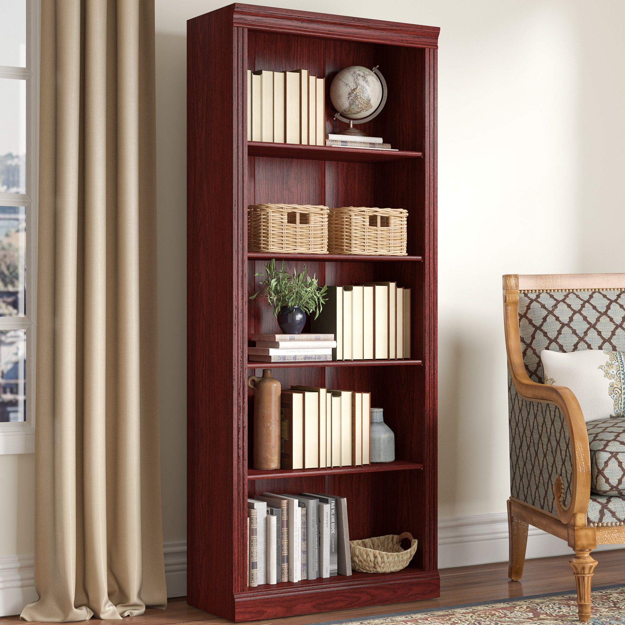 Trendy Kayli Standard Bookcases Within Cowdray Standard Bookcase (View 20 of 20)