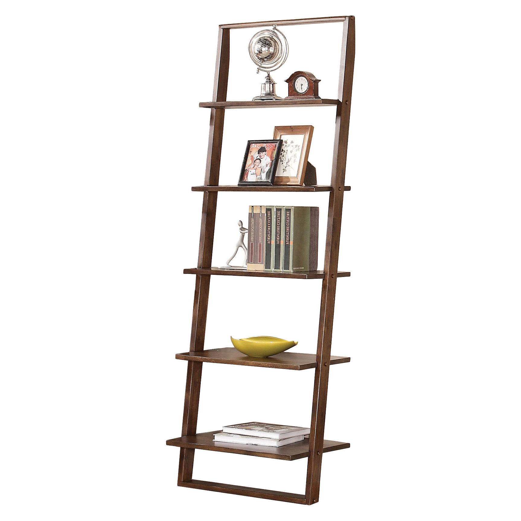 Trendy Noelle Ashlynn Ladder Bookcase Throughout Noelle Ashlynn Ladder Bookcases (View 16 of 20)
