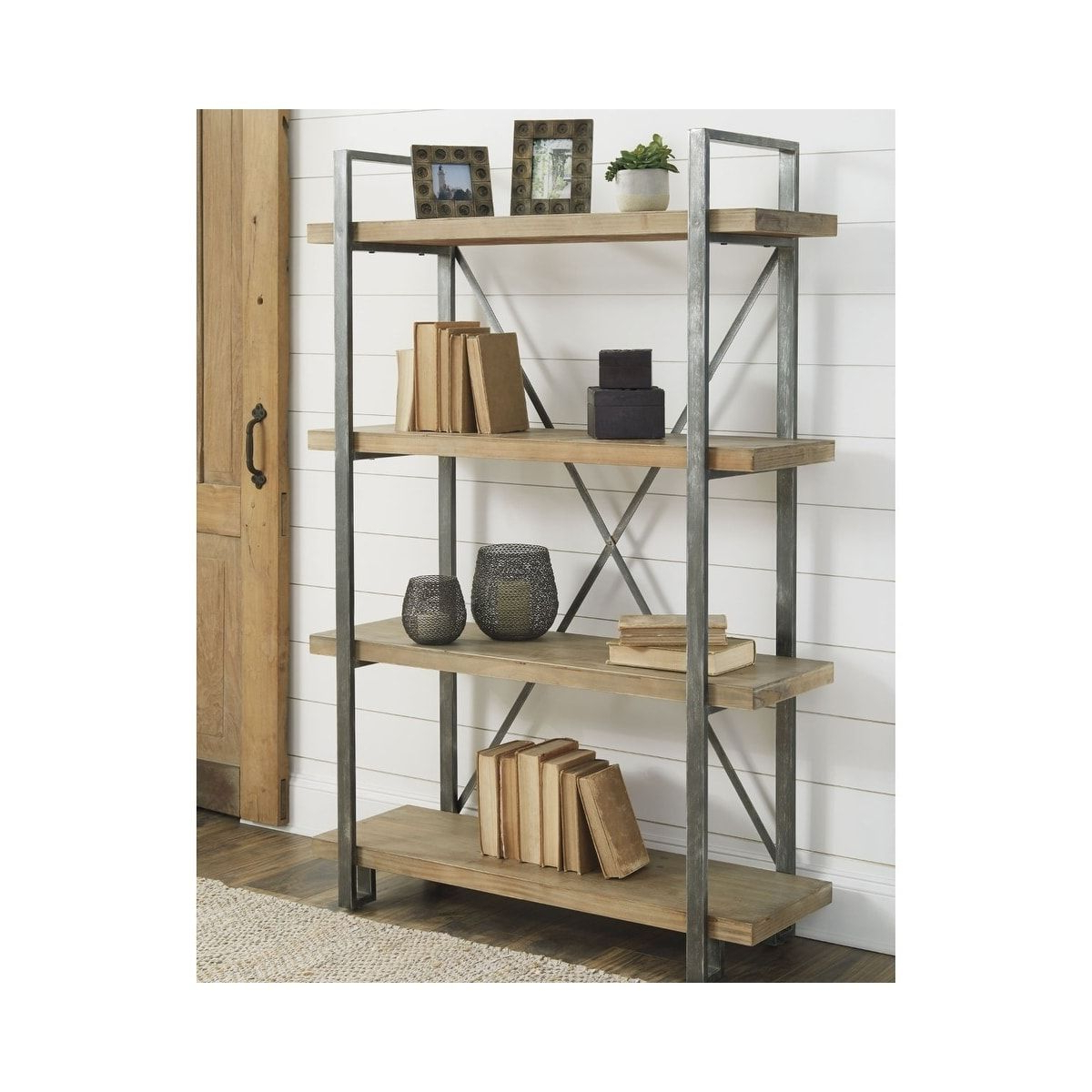 Trendy Signature Designashley Forestmin Bookshelf, Brown In Inside Whidden Etagere Bookcases (View 9 of 20)