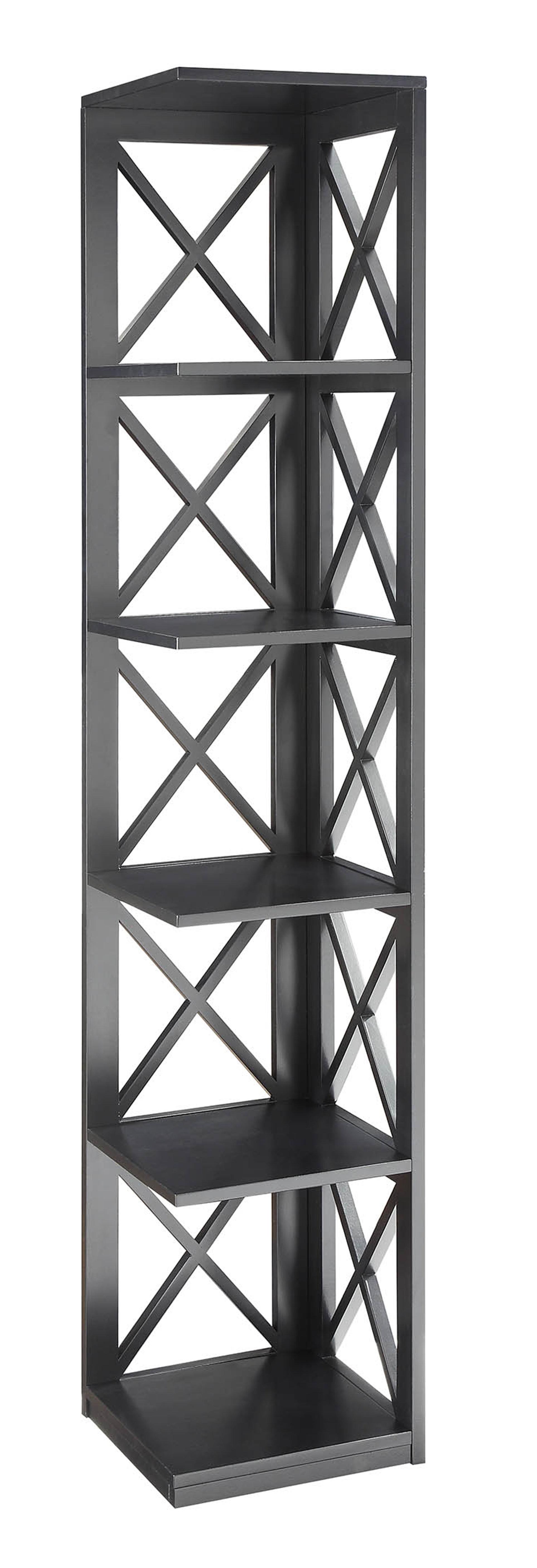 Trendy Stoneford Corner Bookcase In Vas Corner Bookcases (View 14 of 20)