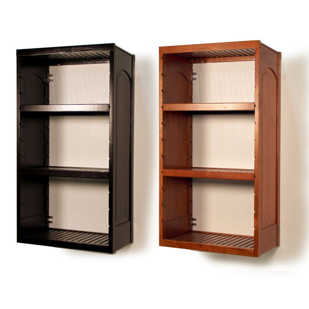 Trendy Woodcrest Etagere Bookcases With Regard To 16In (View 15 of 20)