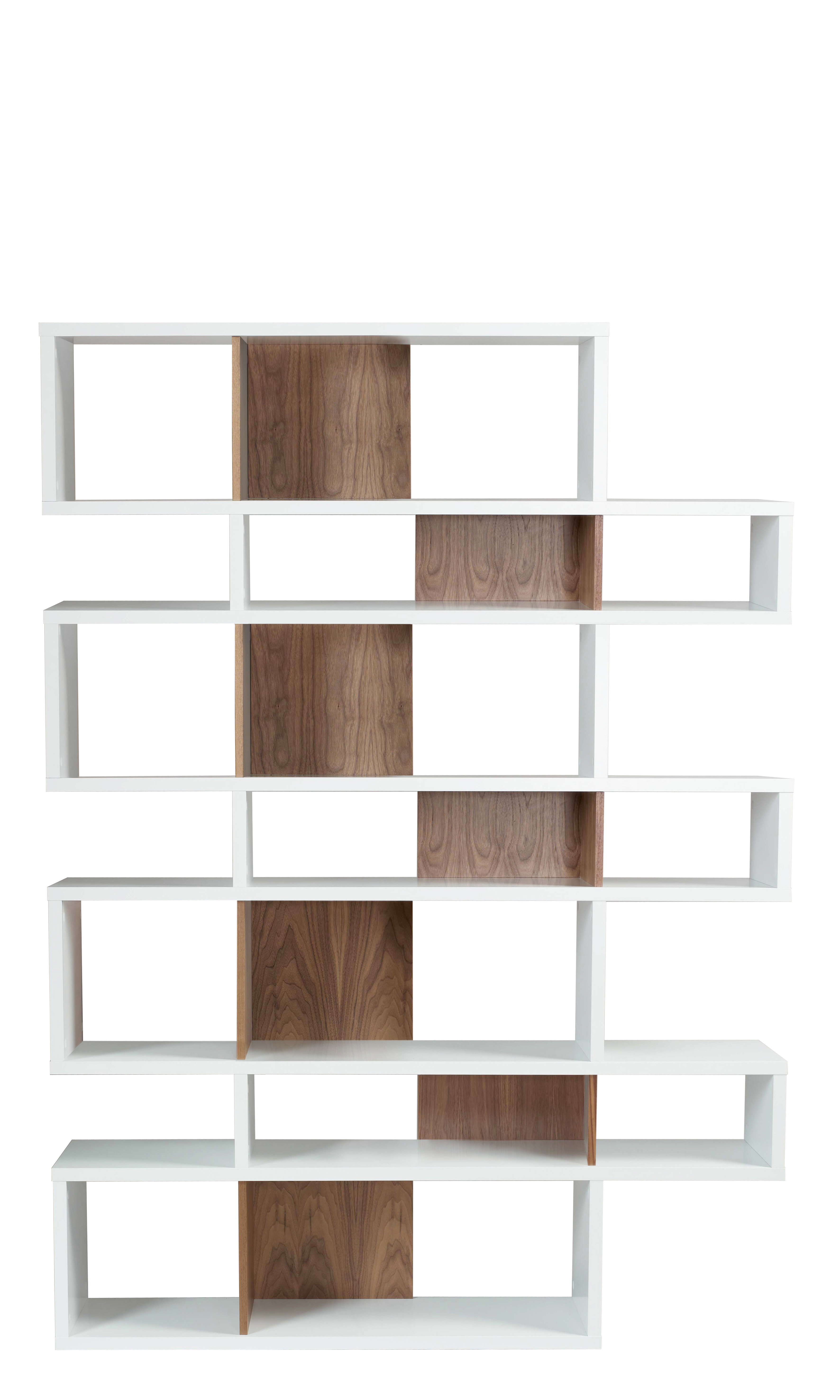 Twomey Composition Geometric Bookcase & Reviews (View 14 of 20)