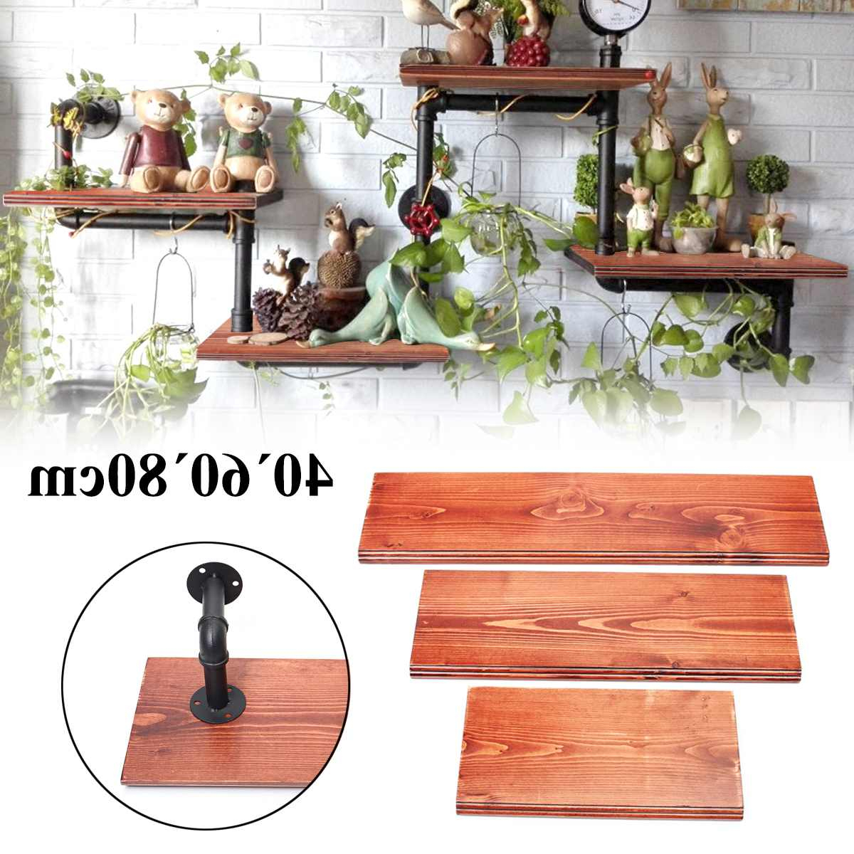 [%us $104.77 52% Off|3pcs Wall Shelves Vintage Solid Wood Board Panel Shelf Kit 40+60+80cm Bookshelf With 6 Iron Pipes Wall Mount For Home Decor In Intended For Most Popular Kit Bookcases|kit Bookcases Inside Newest Us $104.77 52% Off|3pcs Wall Shelves Vintage Solid Wood Board Panel Shelf Kit 40+60+80cm Bookshelf With 6 Iron Pipes Wall Mount For Home Decor In|well Known Kit Bookcases Pertaining To Us $104.77 52% Off|3pcs Wall Shelves Vintage Solid Wood Board Panel Shelf Kit 40+60+80cm Bookshelf With 6 Iron Pipes Wall Mount For Home Decor In|2019 Us $ (View 12 of 20)