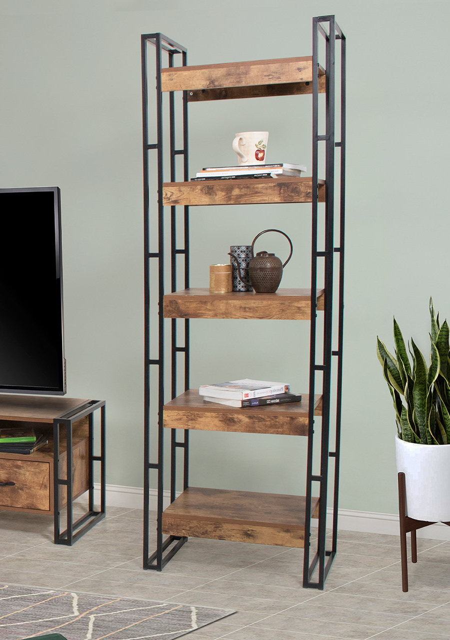 Vania Etagere Bookcase For Most Up To Date Gladstone Etagere Bookcases (View 11 of 20)