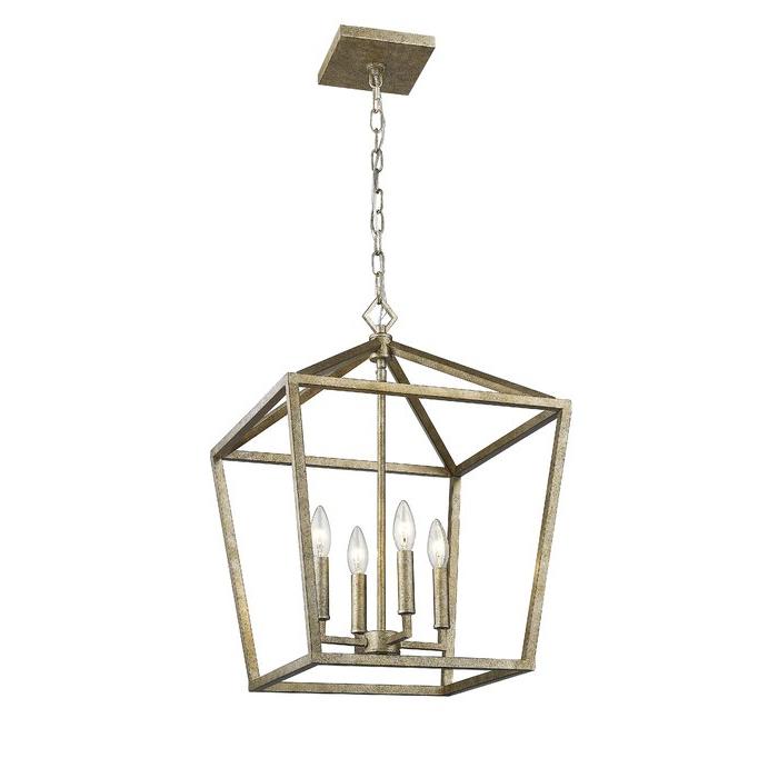 Varnum 4 Light Lantern Pendants Pertaining To Well Liked Varnum 4 Light Lantern Pendant (View 22 of 25)