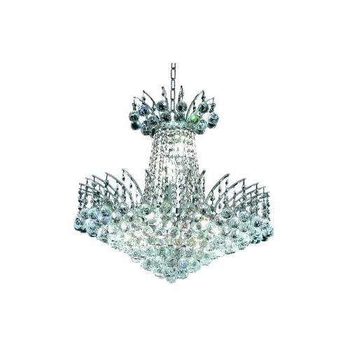 Verdell 5 Light Crystal Chandeliers Pertaining To Recent Tag Archived Of Devanna 6 Light Crystal Chandelier : Pretty (View 23 of 25)