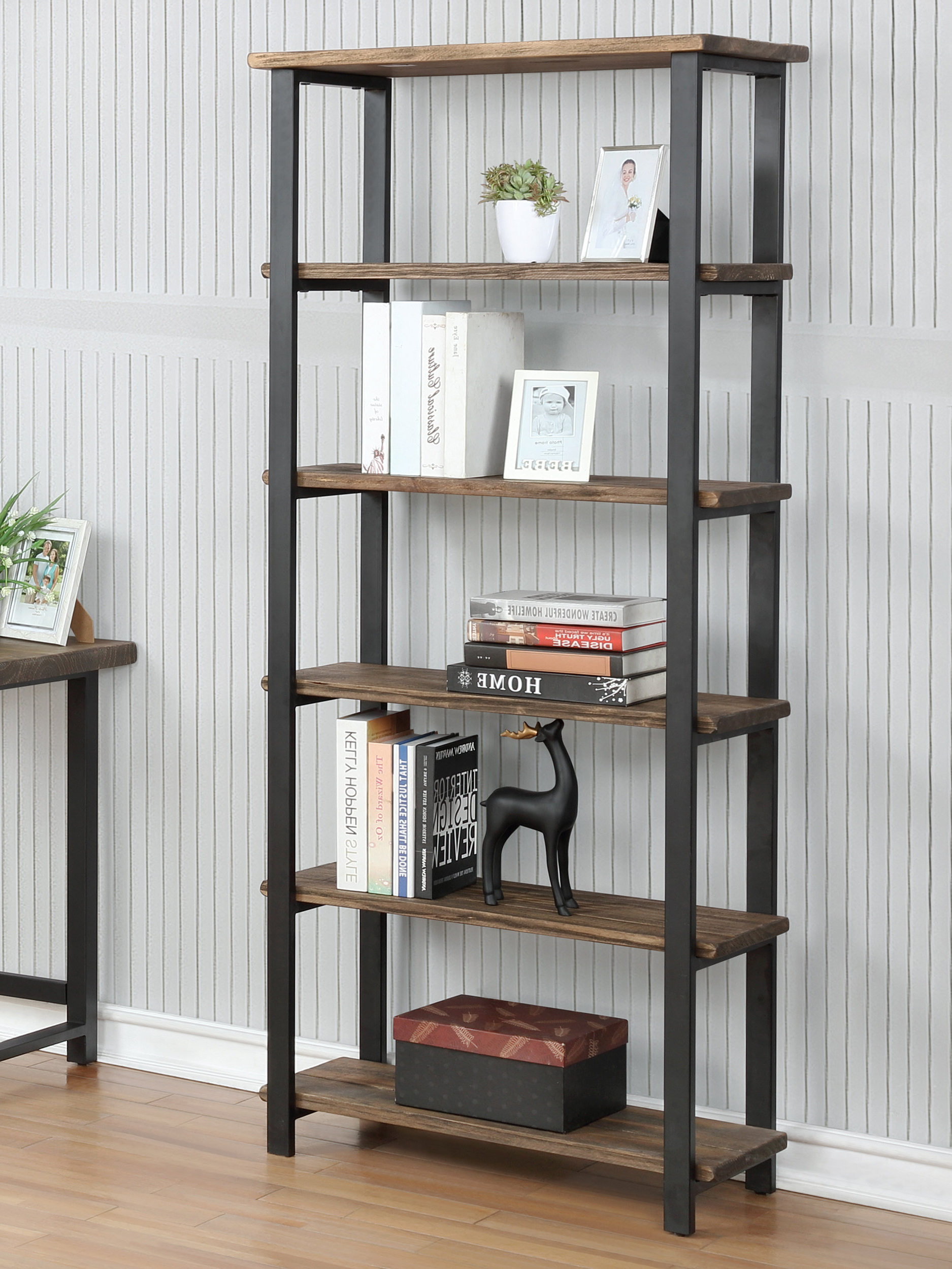 Veropeso Etagere Bookcase For Recent Hitz Etagere Bookcases (View 17 of 20)