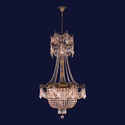 Von 4 Light Crystal Chandeliers With Recent Worldwide Lighting Winchester Collection 72 In Antique Bronze Golden Teak 4 Light Crystal Chandelier (View 15 of 25)