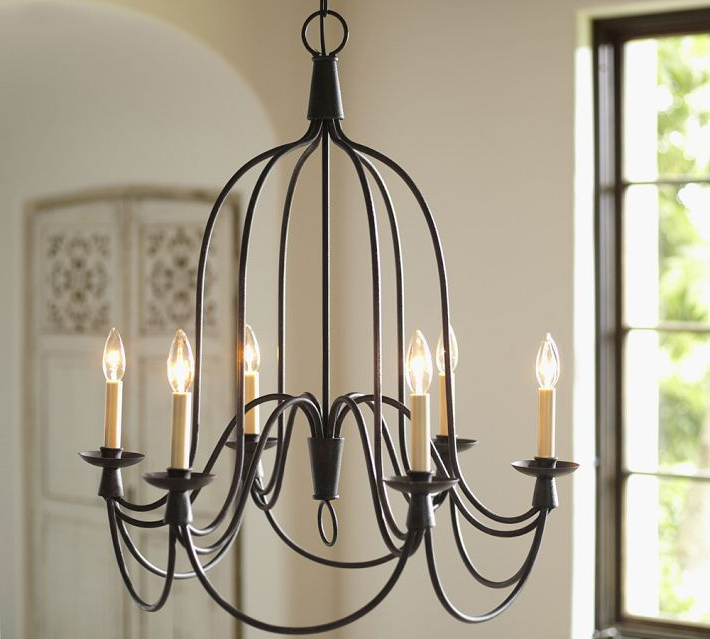 Watford 6 Light Candle Style Chandeliers Regarding Well Known Armonk 6 Arm Indoor/outdoor Chandelier In (View 25 of 25)