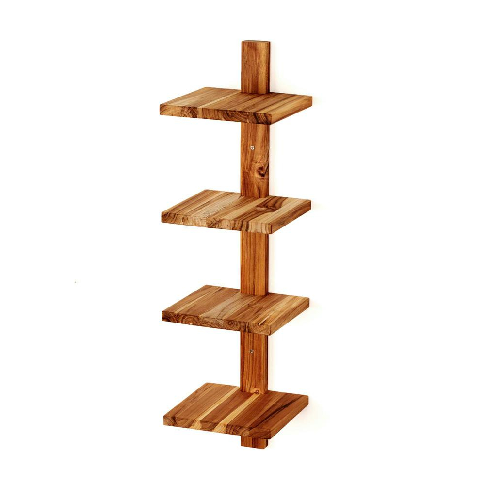 Waverley Etagere Bookcases With Regard To Most Recent Takara Column Shelf 8 In. X 8.5 In. X 33 In (View 18 of 20)