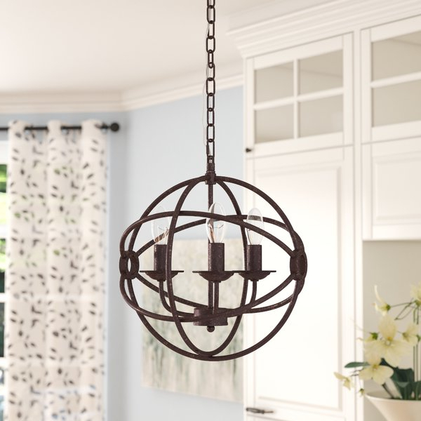 Wayfair For Well Known Filipe Globe Chandeliers (View 16 of 25)