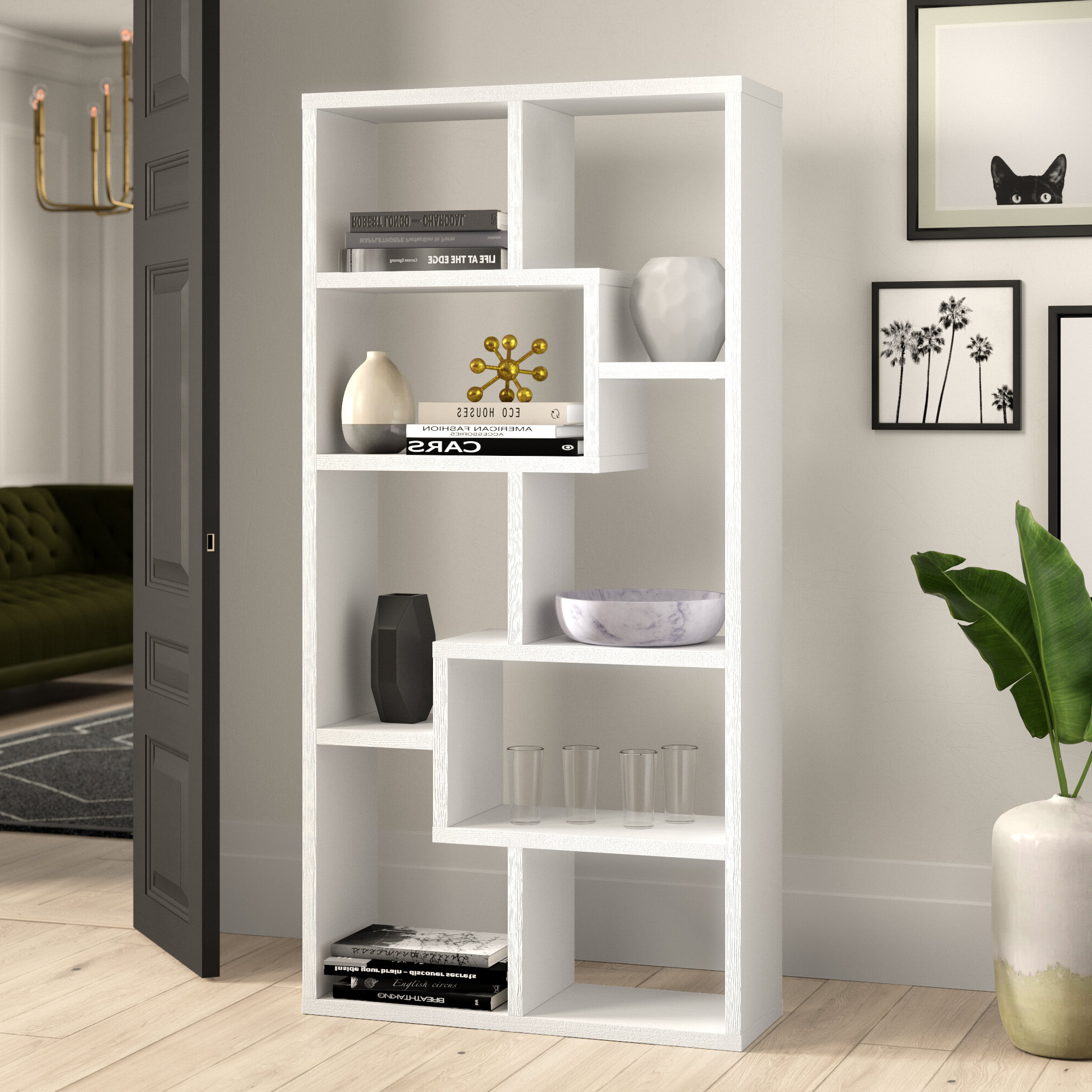 Wayfair In Maryln Standard Bookcases (View 3 of 20)