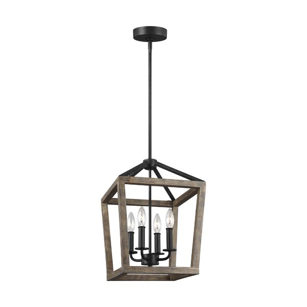Wayfair Inside Best And Newest Freeburg 4 Light Lantern Square / Rectangle Pendants (View 14 of 25)
