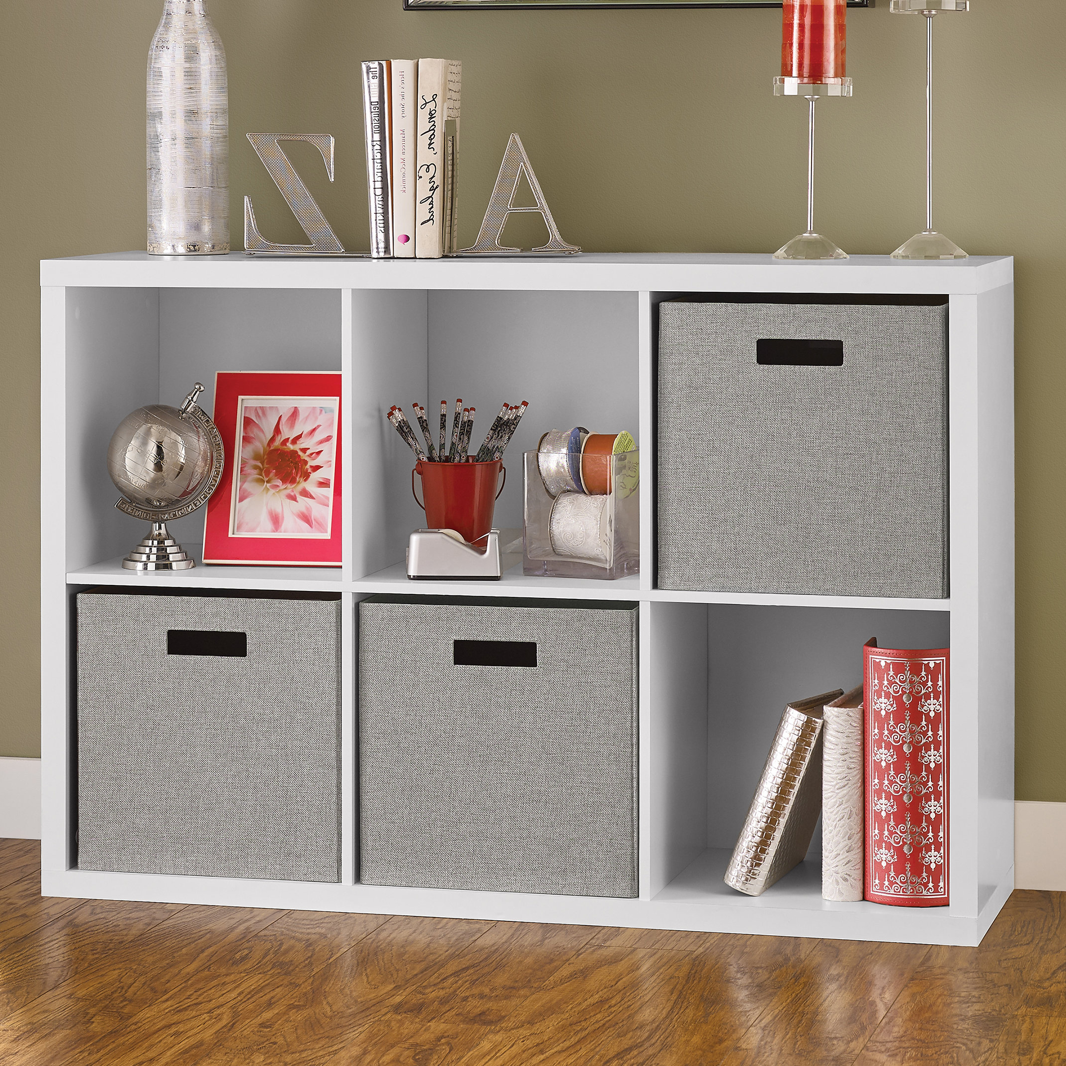 Wayfair Inside Fashionable Karlie Cube Unit Bookcases (View 9 of 20)
