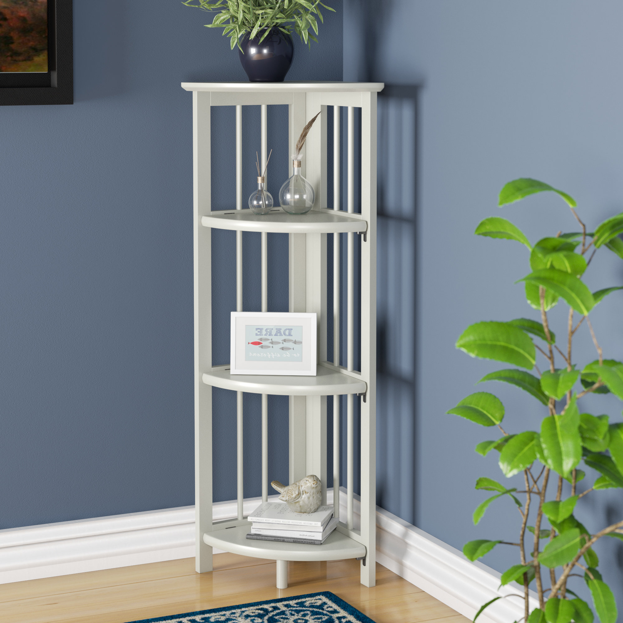 Wayfair Intended For Vas Corner Bookcases (View 12 of 20)