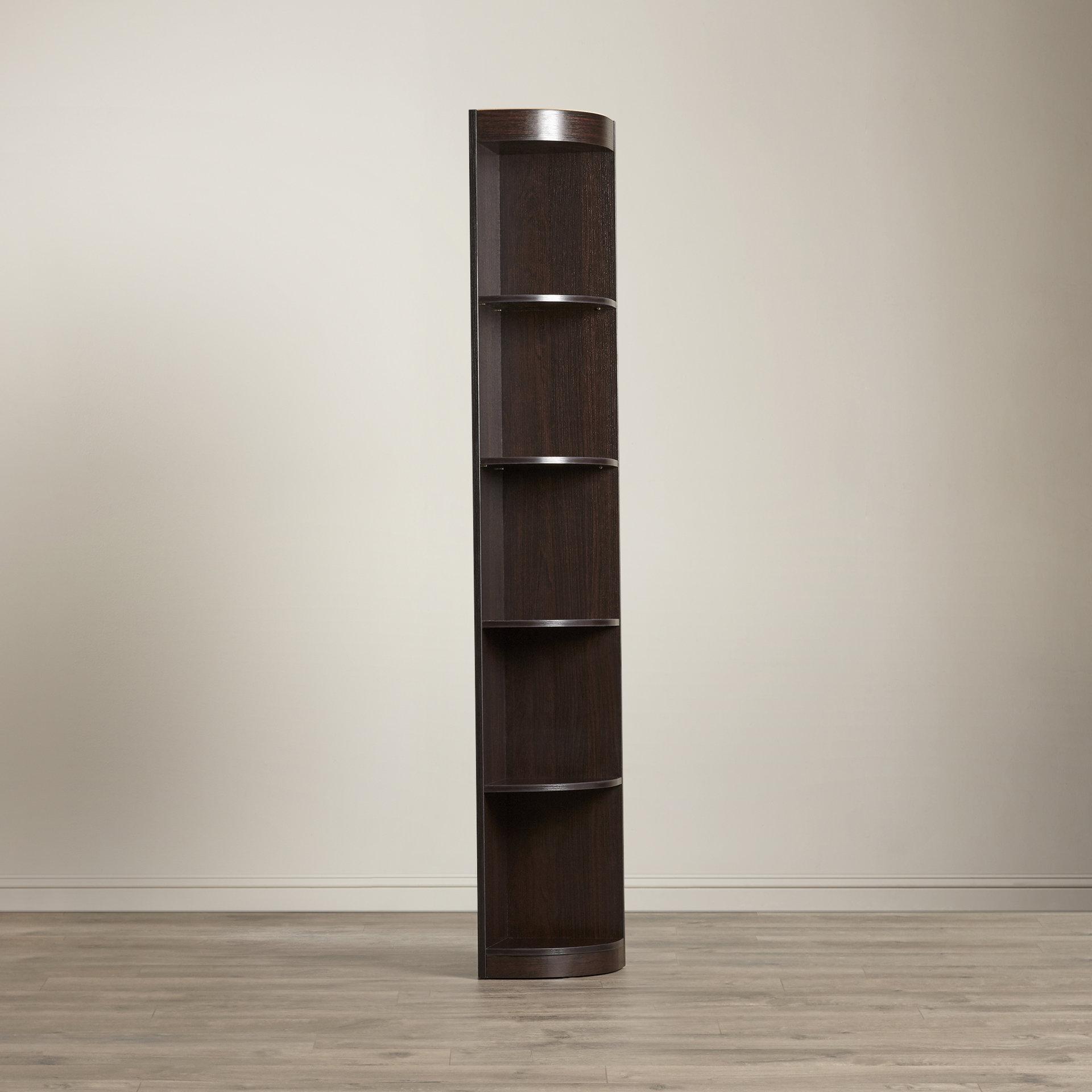 Wayfair Pertaining To Most Popular Mari Wood Corner Bookcases (View 18 of 20)