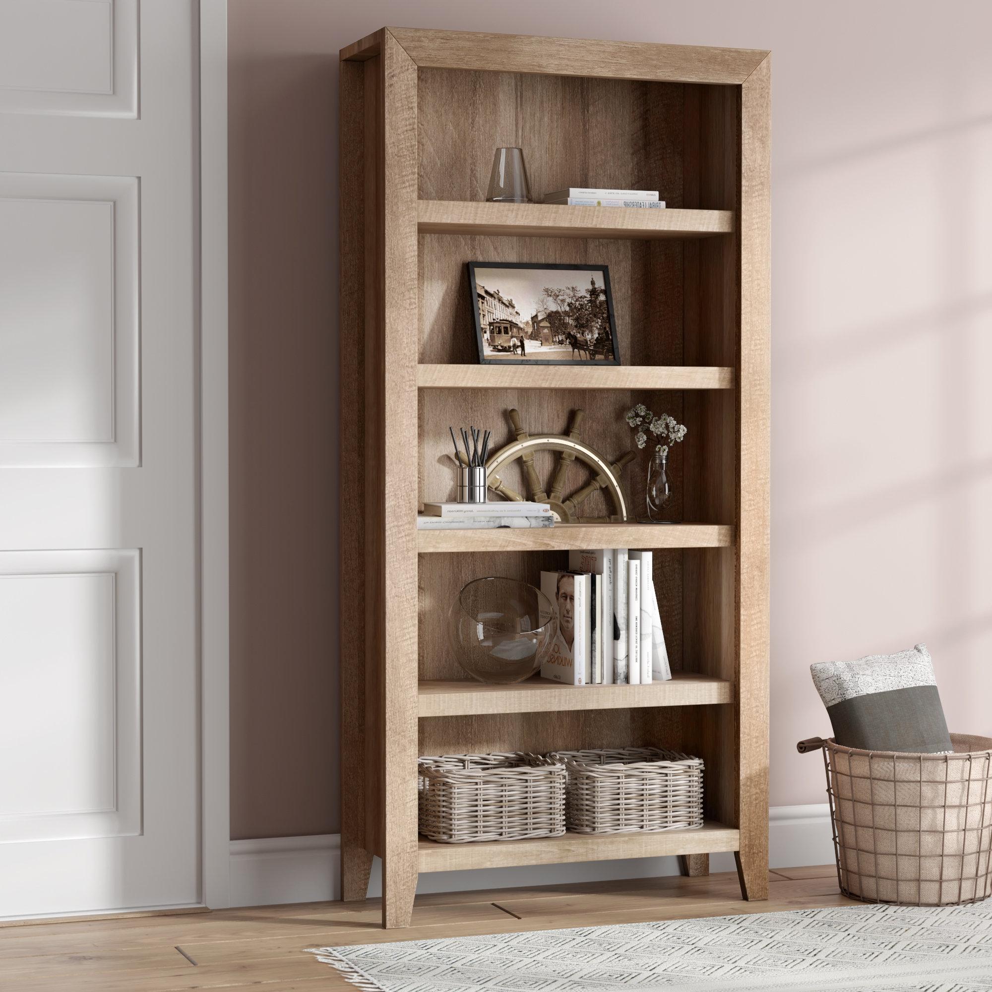 Wayfair Regarding Most Recent Mdb Standard Bookcases (View 18 of 20)