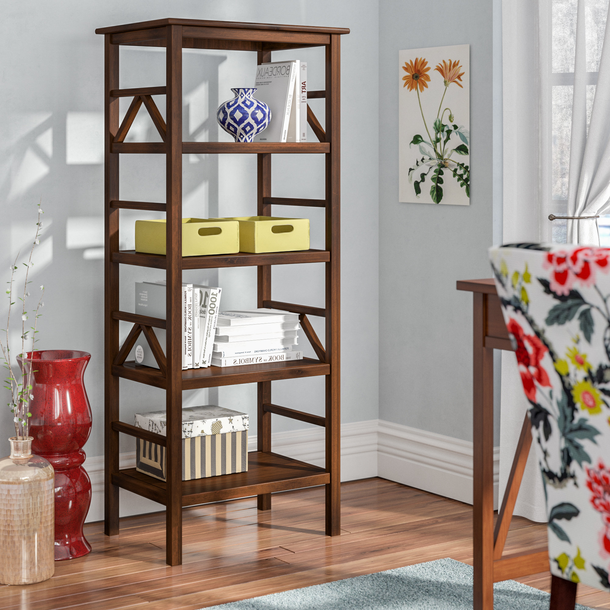 Wayfair Regarding Woodcrest Etagere Bookcases (View 16 of 20)