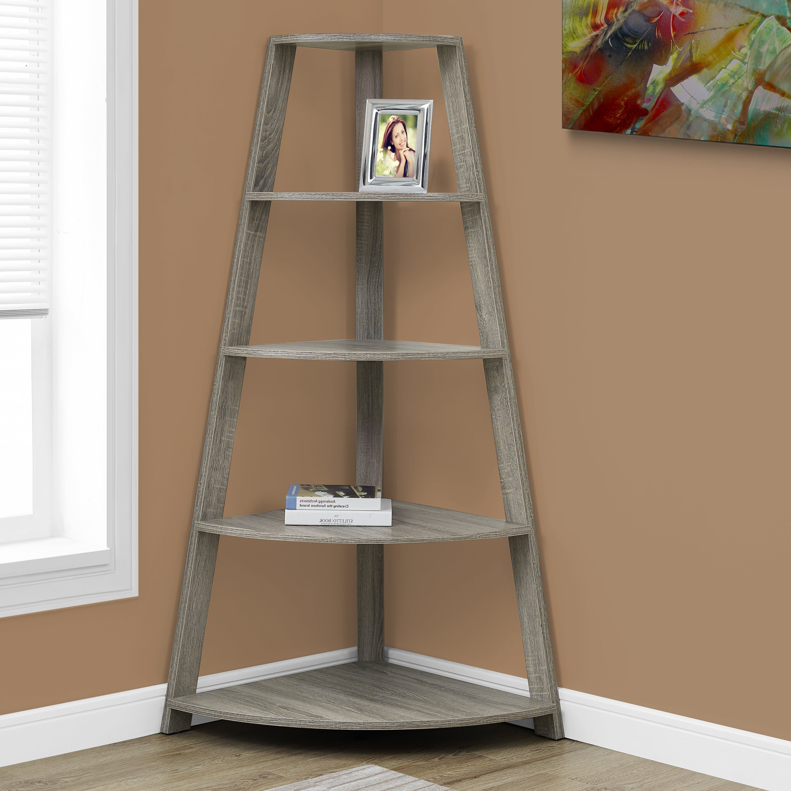 Wayfair Throughout Thelen Corner Bookcases (View 10 of 20)