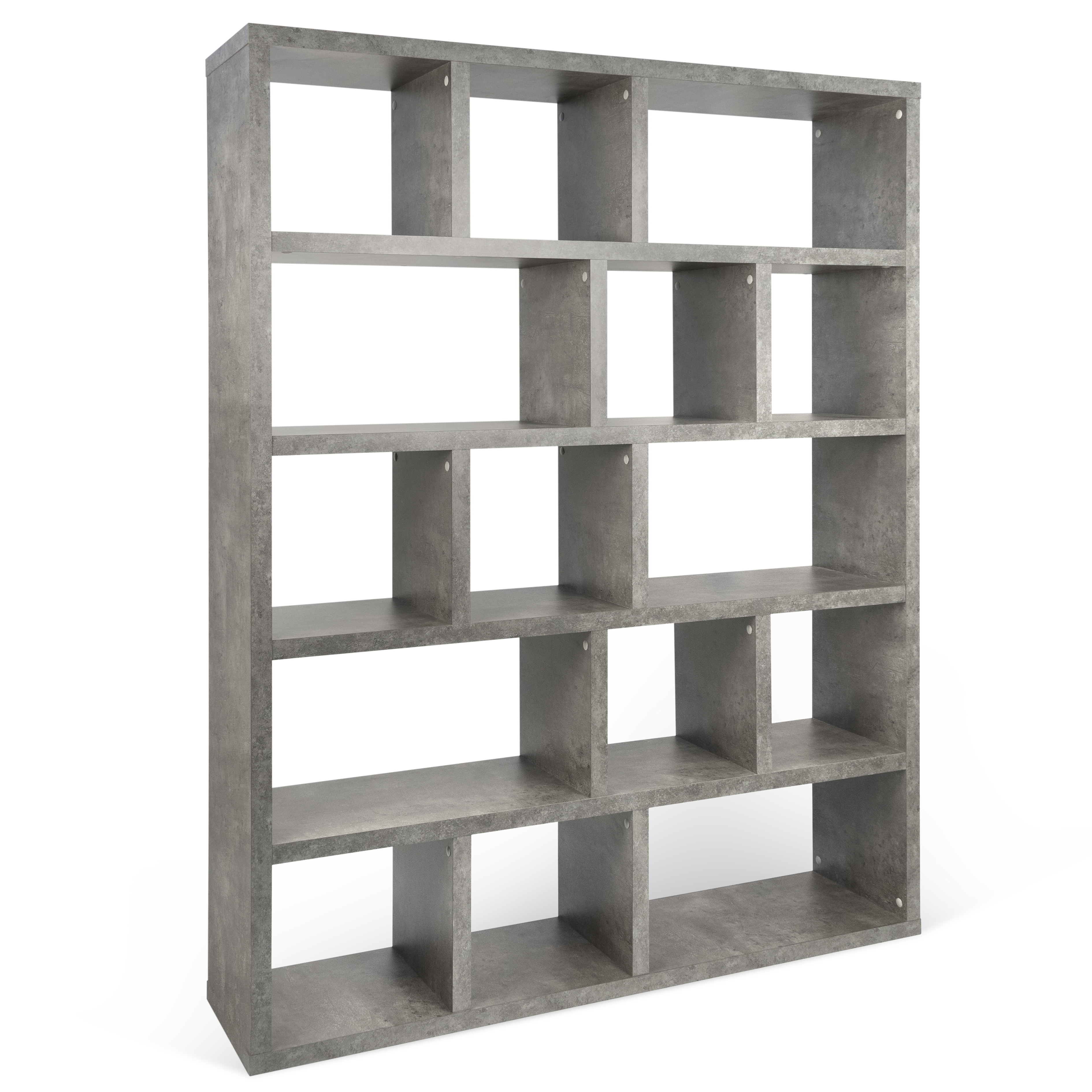 Wayfair With Varga 5 Level Geometric Bookcases (View 4 of 20)