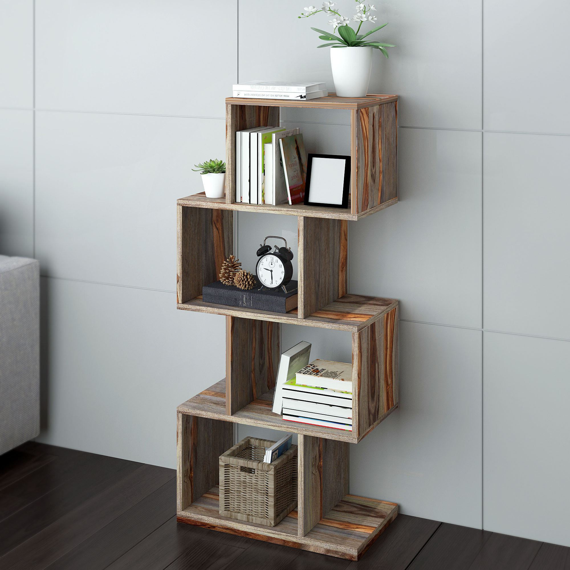 Wayfair Within Latest Maryln Standard Bookcases (View 16 of 20)