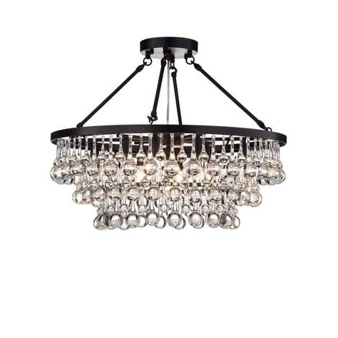 Wayfair Within Whitten 4 Light Crystal Chandeliers (View 17 of 25)