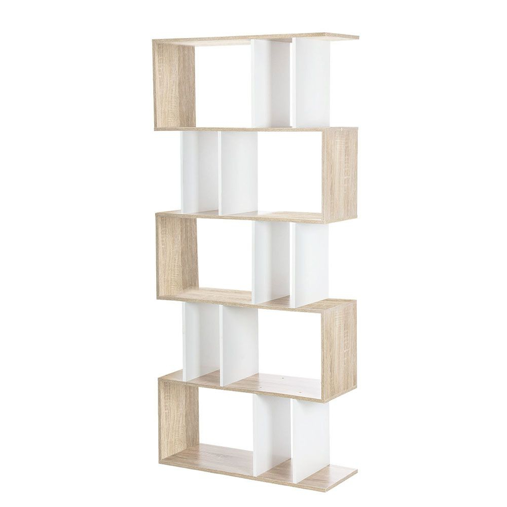 Well Known 5 Tier Ellista Puzzle Shelf Unit (View 18 of 20)