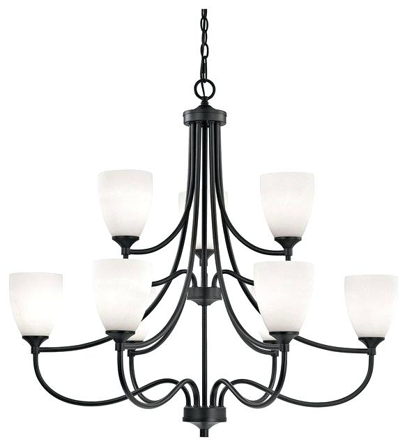 Well Known 9 Light Chandelier Black Portfolio Bronze Giverny Candle In Giverny 9 Light Candle Style Chandeliers (View 11 of 25)