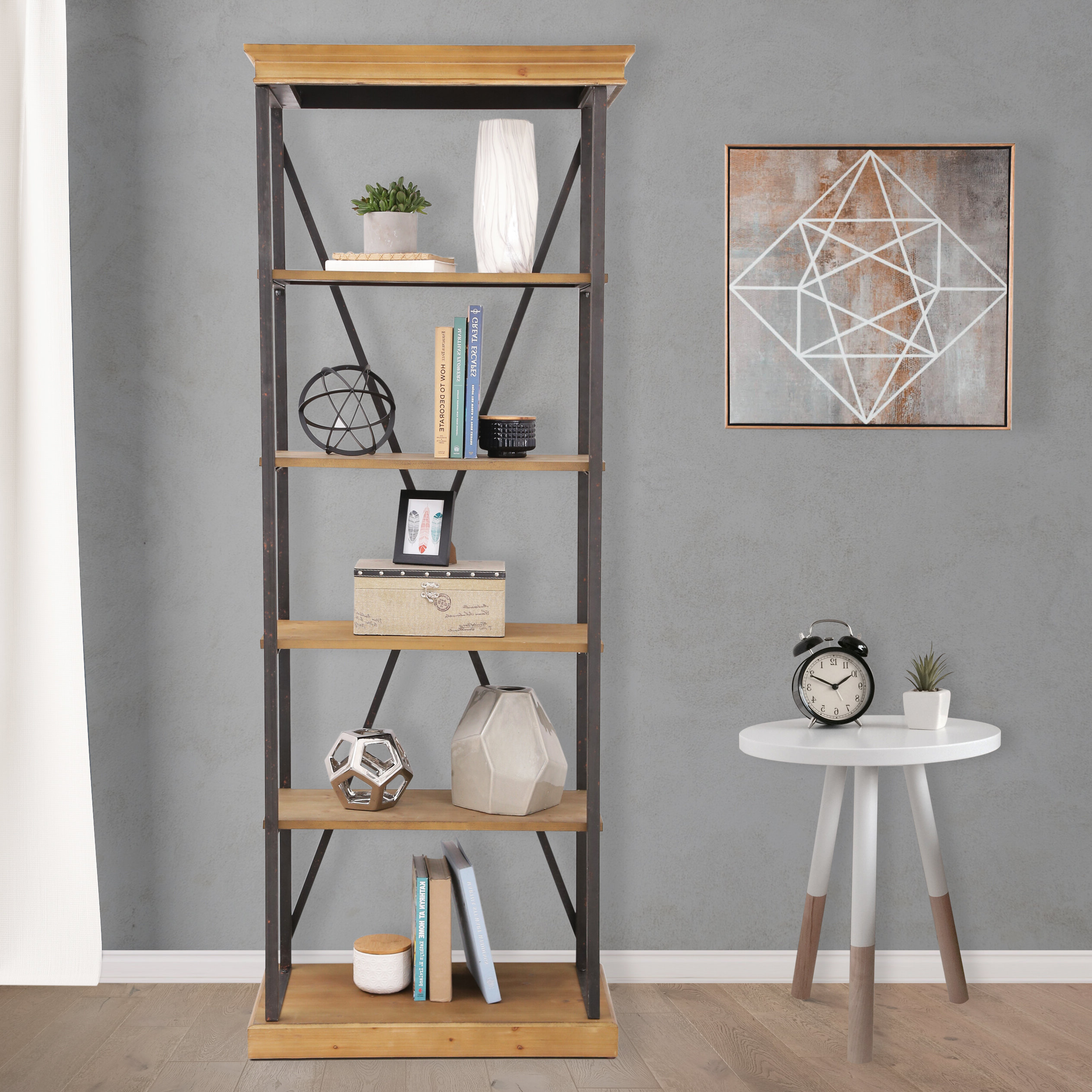Well Known Amberly Etagere Bookcase Regarding Caitlyn Etagere Bookcases (View 15 of 20)