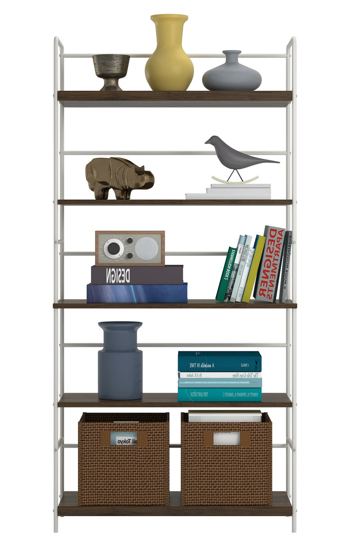 Well Known Augustus Etagere Bookcases Inside Webster Etagere Bookcase (View 18 of 20)