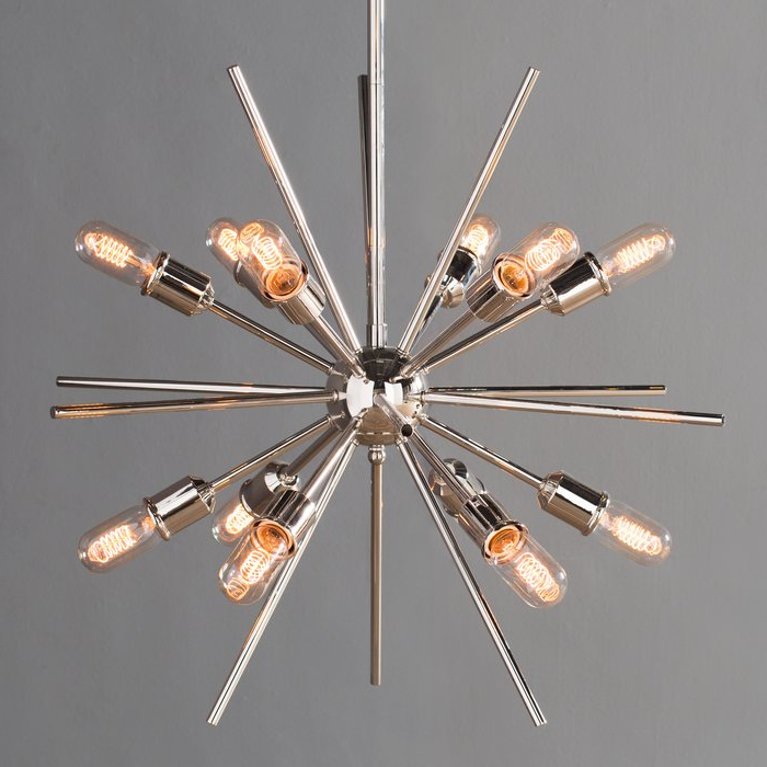 Well Known Bacchus 12 Light Sputnik Chandeliers Regarding Corona 12 Light Sputnik Chandelier (View 8 of 25)