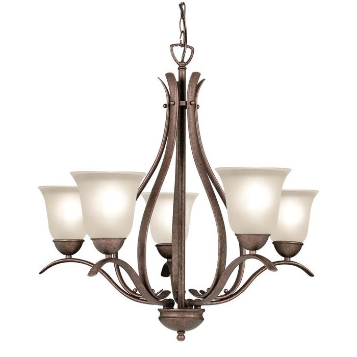 Well Known Beaconsfield 5 Light Shaded Chandelier With Newent 5 Light Shaded Chandeliers (View 14 of 25)