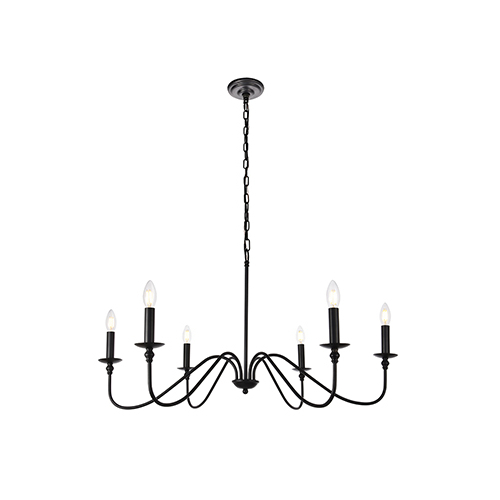 Well Known Black Chandeliers (View 9 of 25)