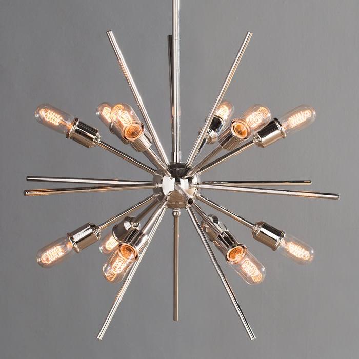 Well Known Corona 12 Light Sputnik Chandelier In Corona 12 Light Sputnik Chandeliers (View 24 of 25)