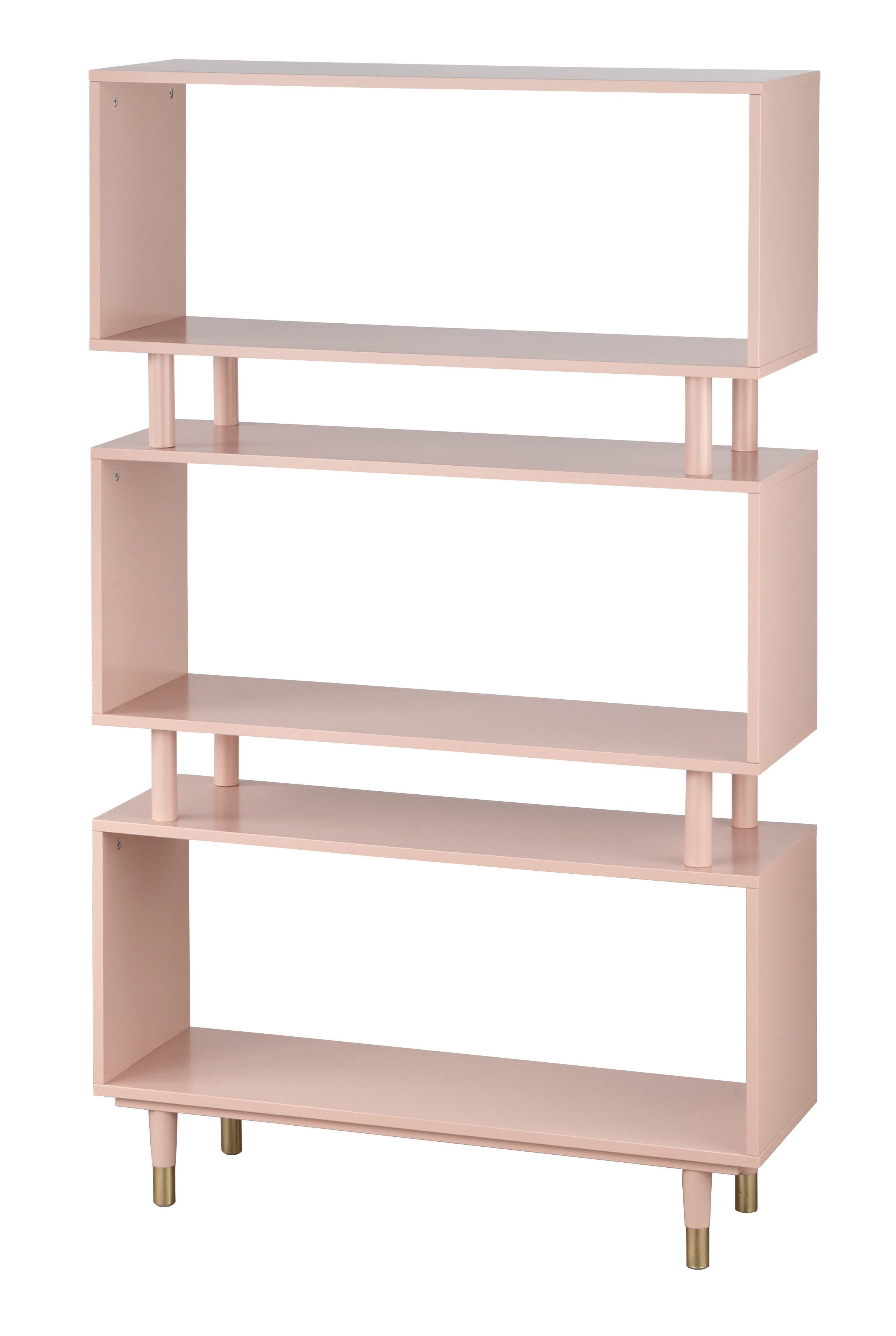 Well Known Crowley Standard Bookcase Pertaining To Fresno Standard Bookcases (View 14 of 20)