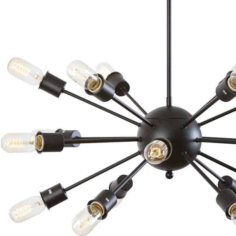 Well Known Defreitas 18 Light Sputnik Chandeliers Regarding Defreitas 18 Light Sputnik Chandelier (View 23 of 25)