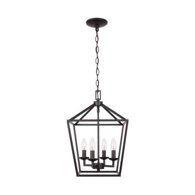 Well Known Emaria 4 Light Unique / Statement Chandeliers Intended For Classic – Chandeliers – Lighting – The Home Depot (View 14 of 25)