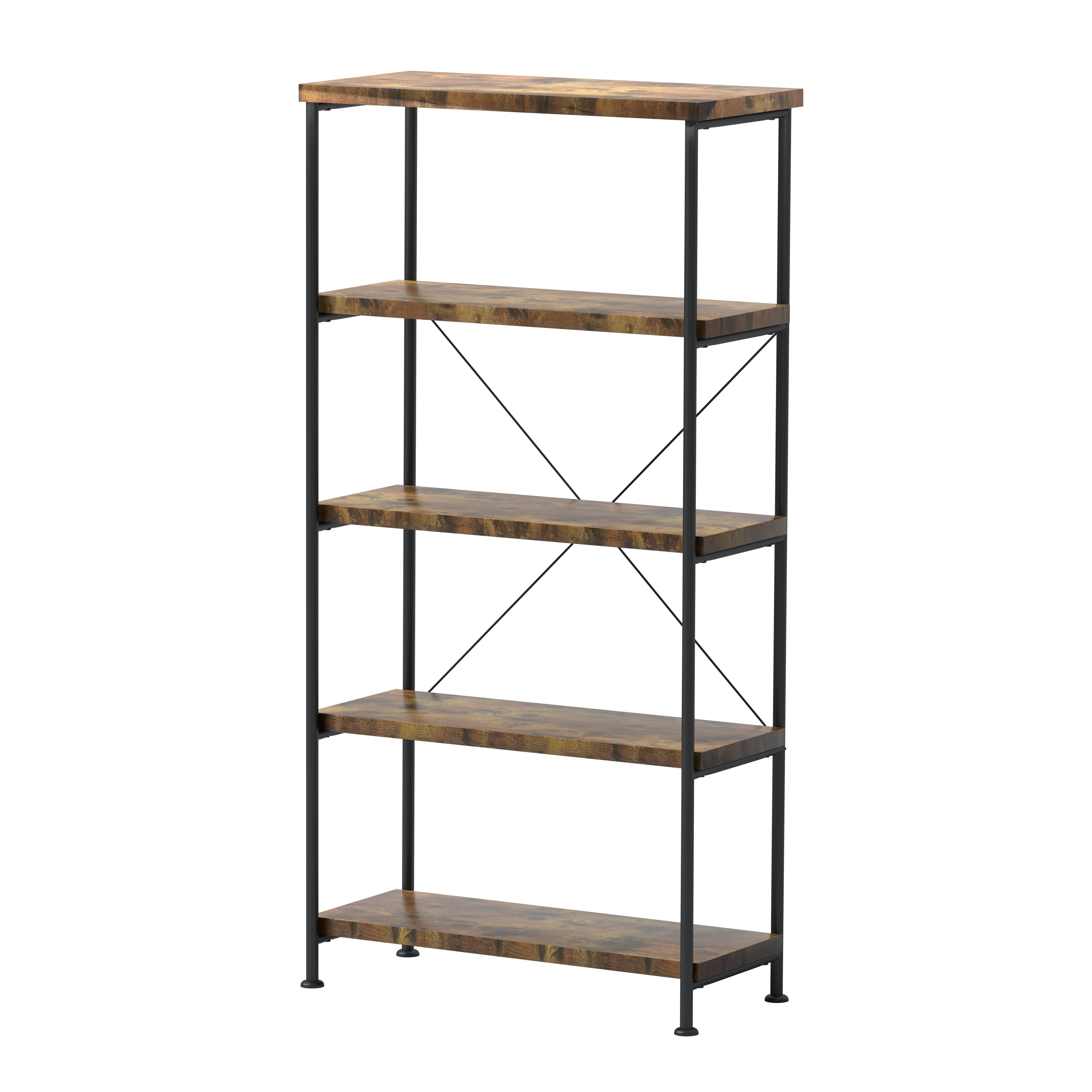 Well Known Epineux Etagere Bookcase Intended For Champney Modern Etagere Bookcases (View 19 of 20)