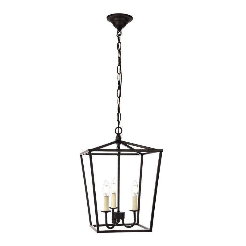 Well Known Finnick 4 Light Foyer Pendants With Regard To Finnick 3 Light Lantern Pendant (View 7 of 25)
