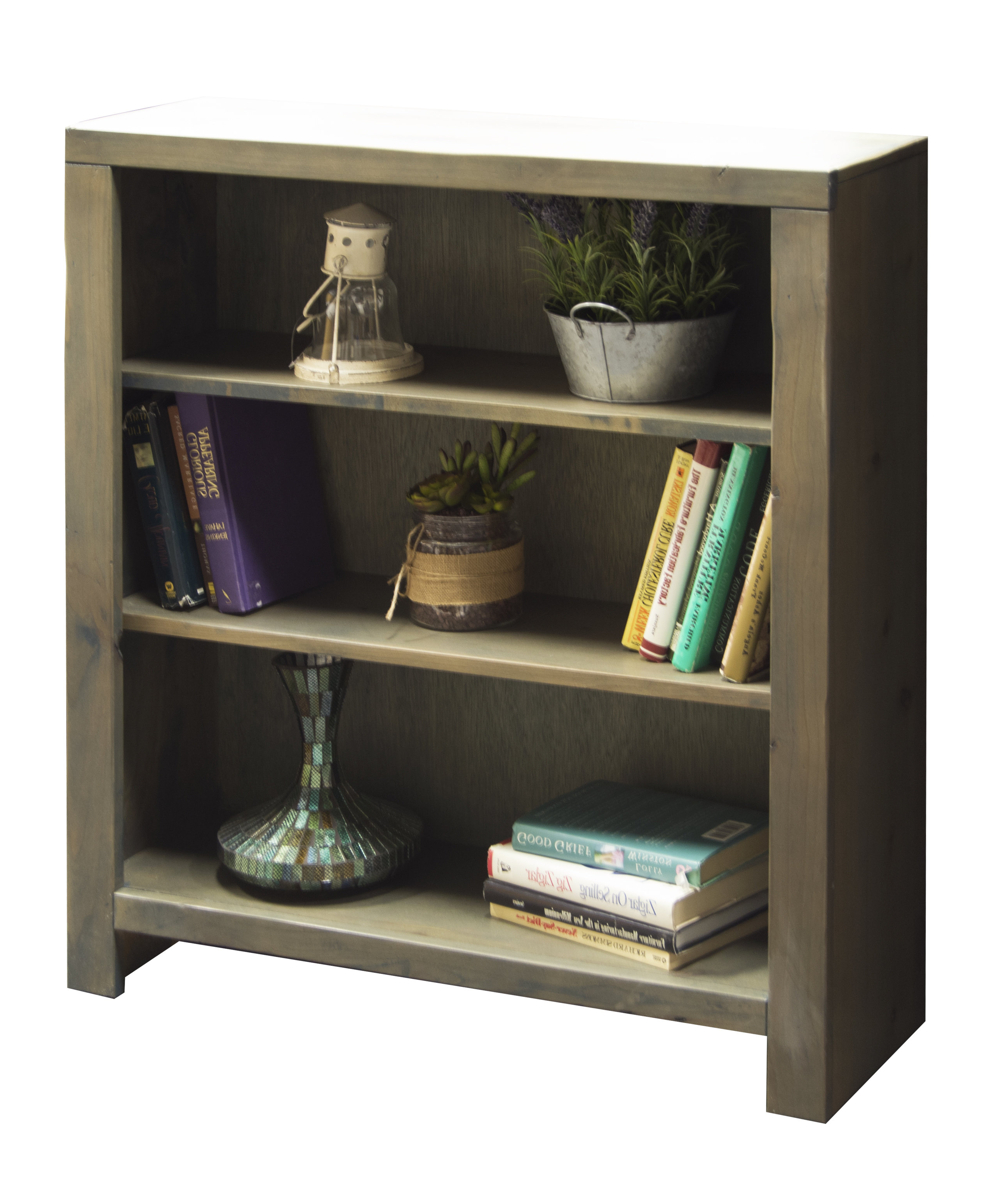 Well Known Fresno Standard Bookcases With Regard To Farmhouse & Rustic Loon Peak Bookcases & Bookshelves (View 11 of 20)