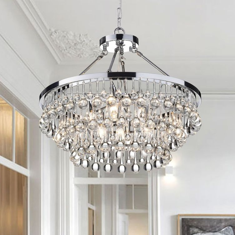 Well Known Gisselle 4 Light Drum Chandeliers Regarding Mcknight 9 Light Chandelier (View 25 of 25)